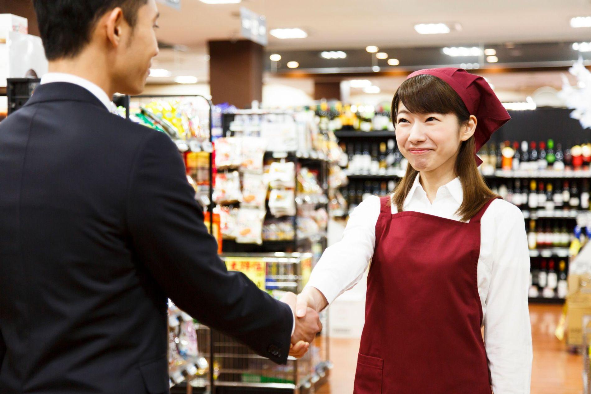 百貨店、大手スーパー・大手食品関連企業との接点